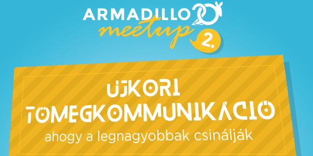 Egy asztalnál Norbi, Pamkutya és a Redbulltól Takács Ákos – rendezvényt szervez az Armadillo