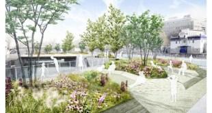 Úszó kertekkel védekezik Bécs a hőhullámok ellen