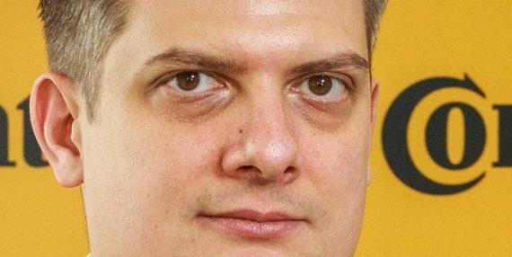 Lóránd Balázs a Continental budapesti Mesterséges Intelligencia Fejlesztési Központjának új vezetője
