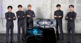A Samsung a globális e-sport szervezet, a T1 hivatalos kijelzőpartnere