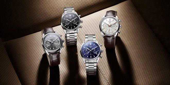 Luxus színvonalra emeli az új TAG Heuer Carrera kollekció az eredeti verseny kronográfot