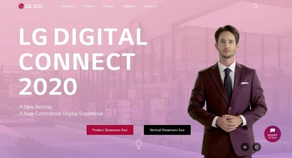 Virtuális bemutatóteremben ismerhetjük meg az LG legújabb üzleti kijelzőit és szolgáltatásait