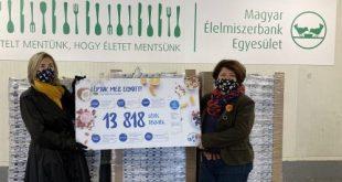13 ezer apró lépéssel az élelmiszerpazarlás ellen – rászoruló családokon segítettek a Danone munkatársai