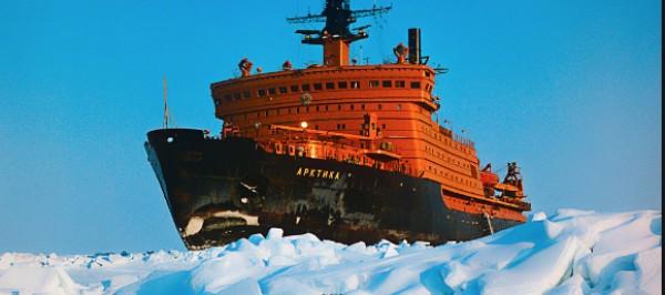 Az Arktika orosz atomjégtörő megtette első útját az északi-tengeri útvonalon