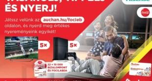 Még izgalmasabb lesz a foci-EB az Auchannal!