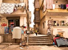 Image of Beirut refugee neighbourhood