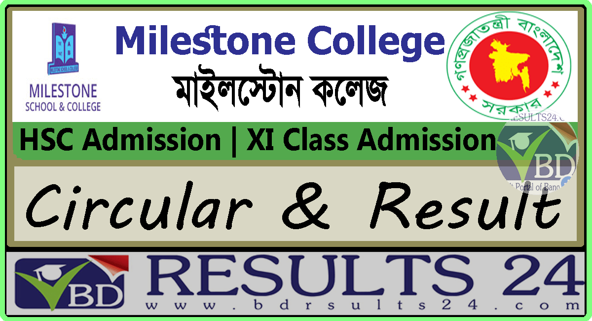Milestone College HSC Admission Circular and Result 2021
