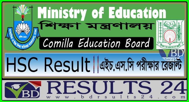 HSC Result Comilla Education Board