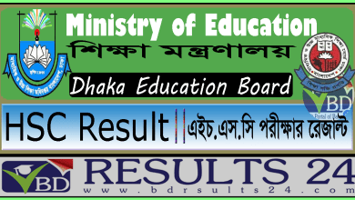 HSC Result Dhaka Education Board