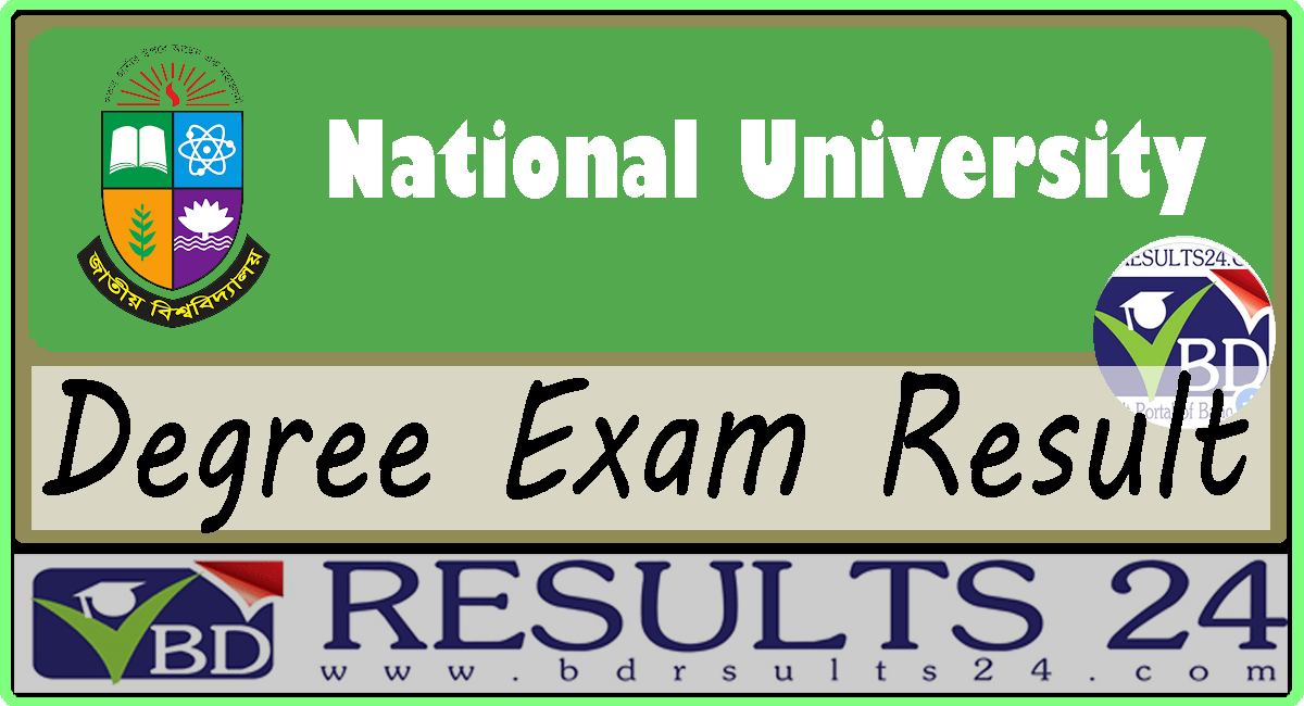 National University Degree Result 2019 all year