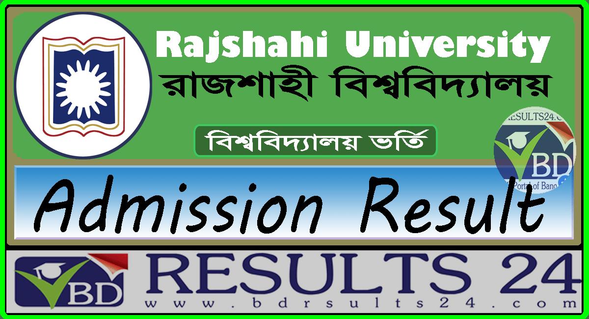 Rajshahi University Admission Test Result