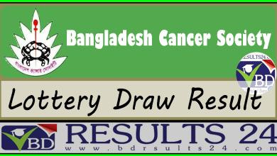 Bangladesh Cancer Society Lottery Result