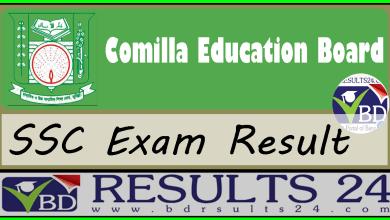 SSC Result Comilla Education Board
