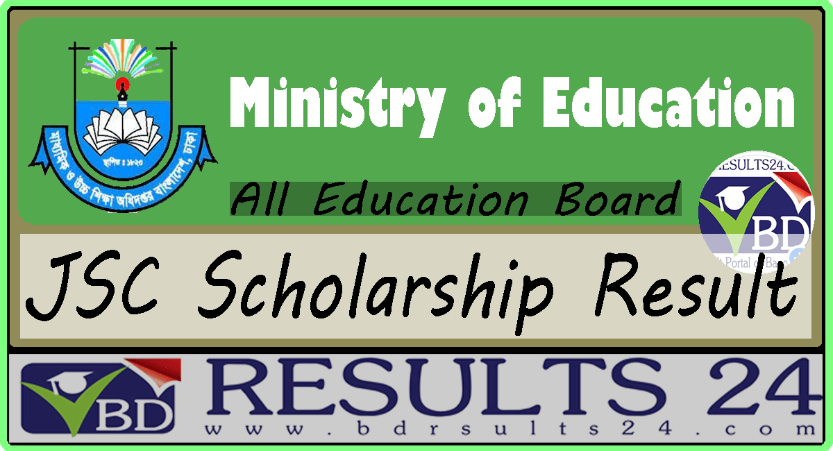 JSC Scholarship Result 2019 All Education Board