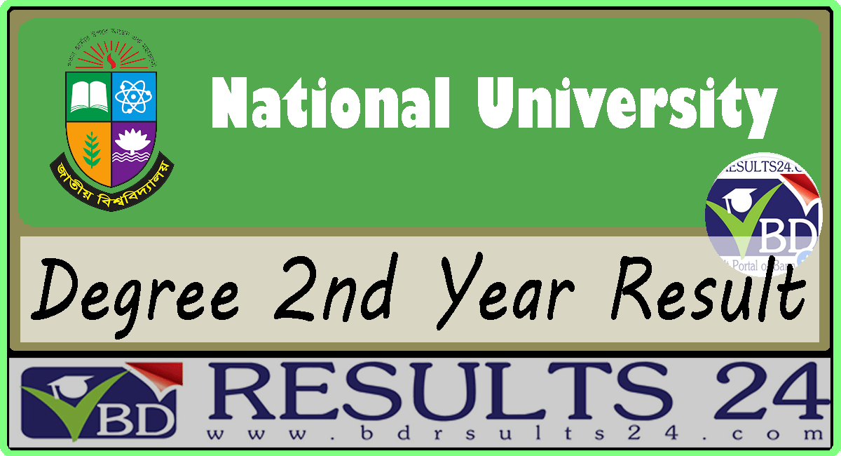 National University Degree 2nd Year Result