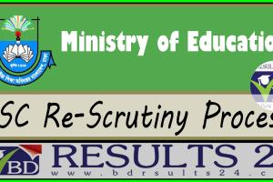 SSC Re-Scrutiny Process