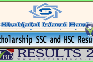 Shahjalal Islami Bank Limited Scholarship SSC and HSC result