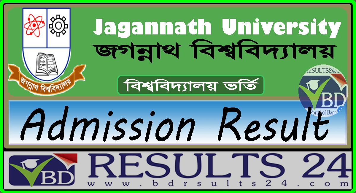 Jagannath University Admission Test Result