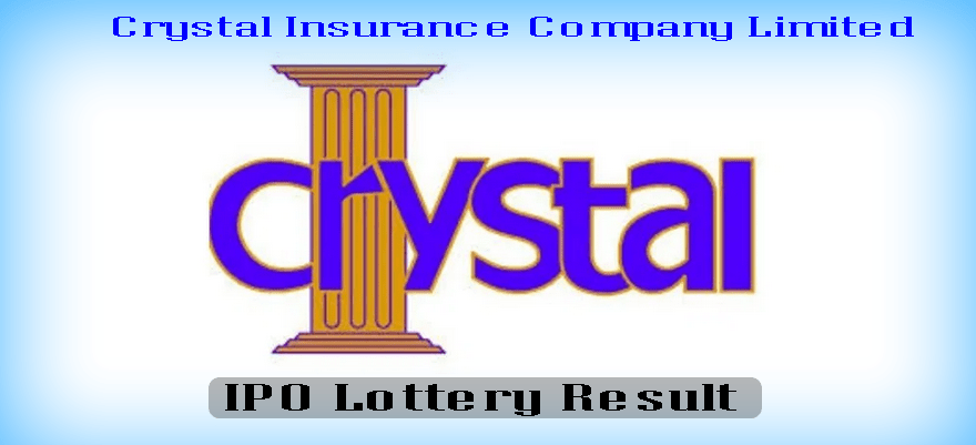 Crystal Insurance Company IPO Result PDF Download