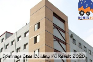 Dominage Steel Building IPO Result