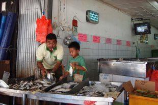 I'm gonna be like you dad... (Kuching, Borneo 2013)
