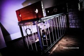 Pranger- und Fesselliege in der SM Wohnung Ostfriesland