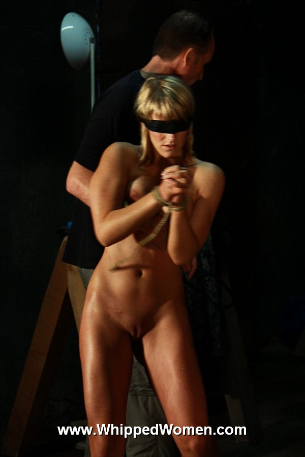 With whipped slave girl art