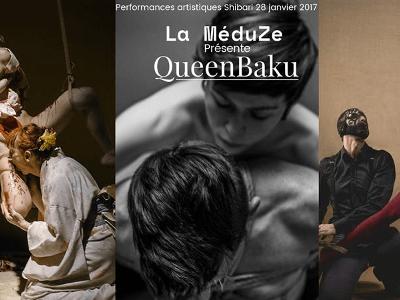 Affiche Queenbaku un : Hanikamu, Ronsky et Misungui.