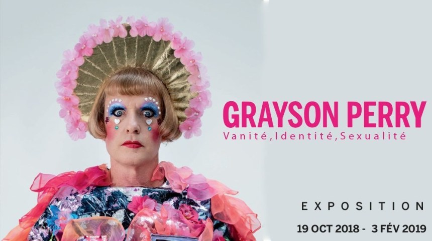 Exposition Grayson Perry à la Monnaie de Paris