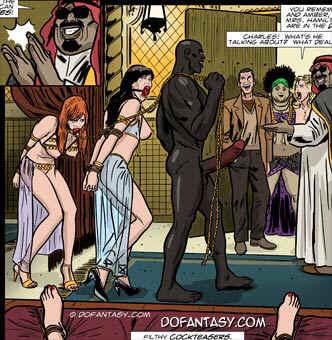 gorean slave fantasy art