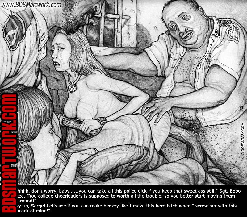 prison bdsm art