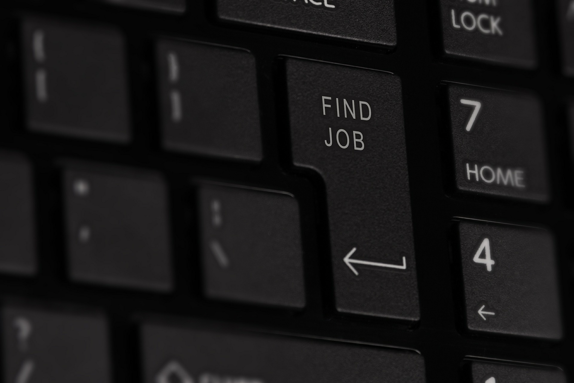 keyboard find job