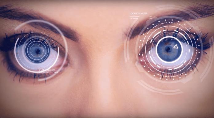 Eye tracking AR VR