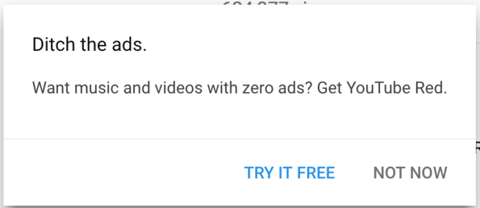 YouTube ads