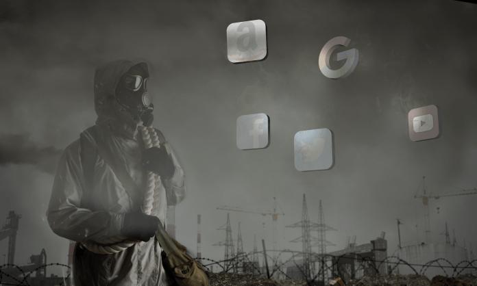 Toxic centralized internet