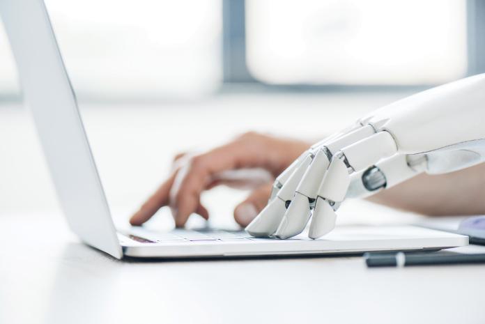 human robot cooperation typing