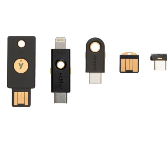 Yubico Yubikey security keys