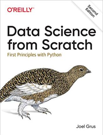 Data science from scratch second edition joel grus