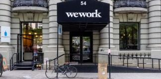 WeWork office in Manhattan