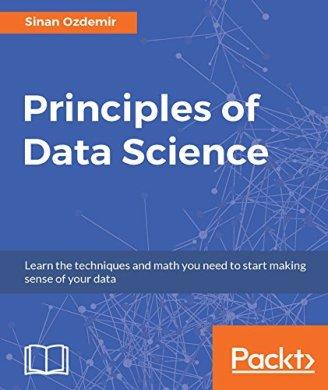 couverture de livre de principes de science des données sinan ozdemir
