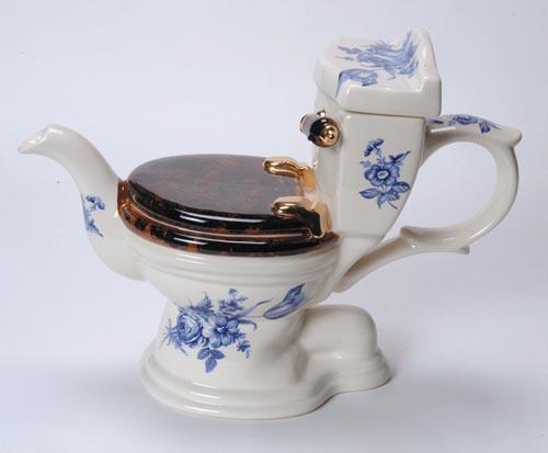 Toilet Teapot