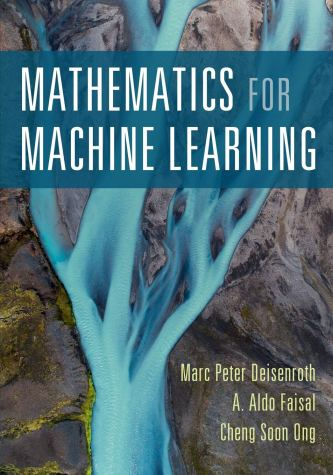 mathematics for machine learning book cover