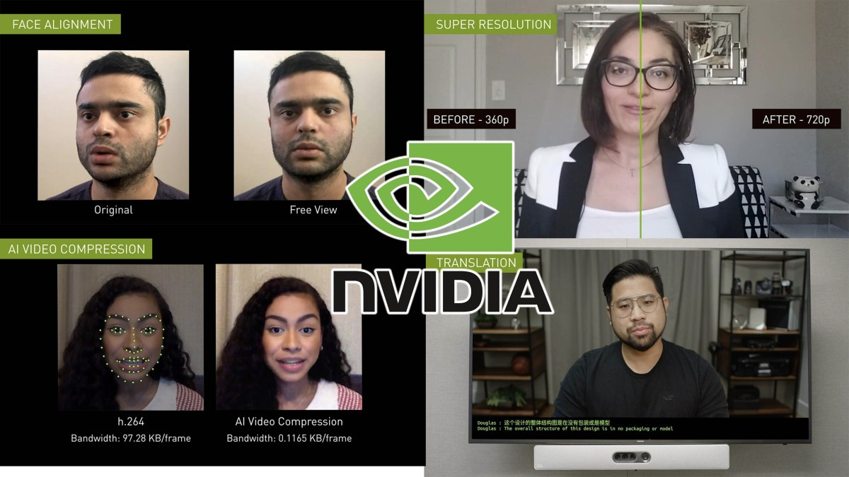 Deconstructing Maxine, Nvidia's AI-powered video-conferencing technology
