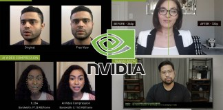 Nvidia Maxine AI video conferencing