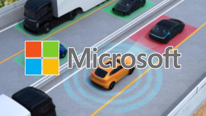 microsoft self driving car