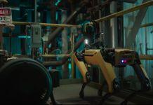 Boston Dynamics Spot industrial