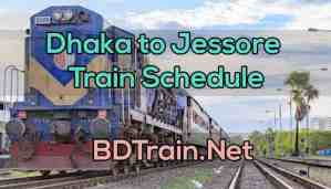 dhaka to jessore train schedule