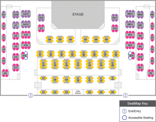 BDT Stage Seating Chart