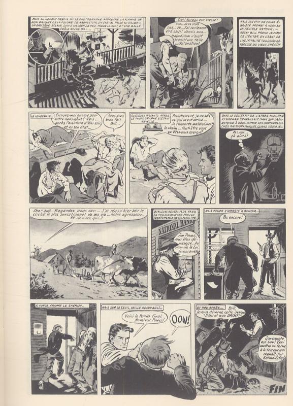 « Rocky Bill », sur scénario d'Yves Duval.