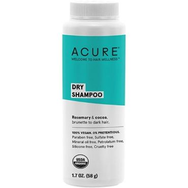 Acure Brunette to Dark Hair Types Dry Shampoo
